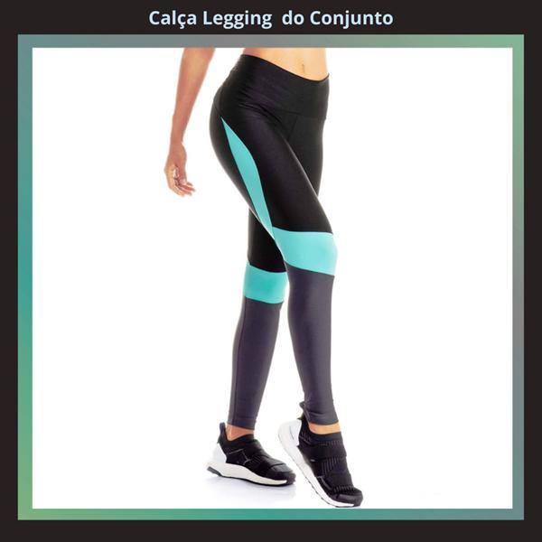 CONJUNTO  FRESH CALÇA LEGGING E TOP